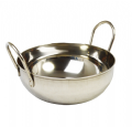 17cm Stainless Steel Balti Dish
